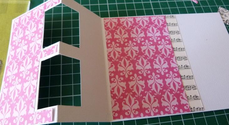 Etape 2/3. : Mise en place des papiers fantaisies P1200725