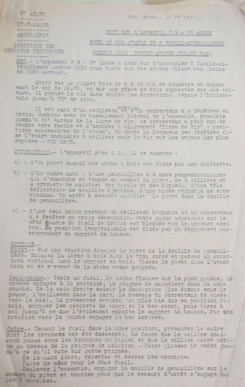 Les jumelages pour FM 24/29 (dit de la 2ème armée) et pour FM Chauchat (Mle 1915 CSRG) - Page 2 Fm24-218