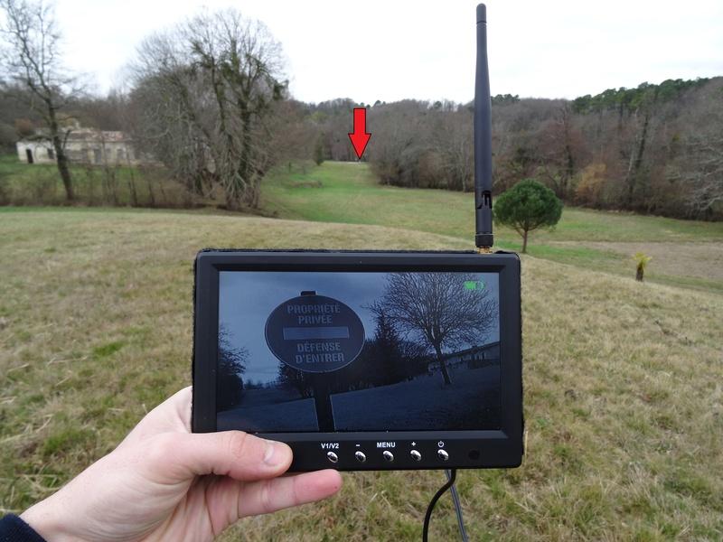 Caméra Wifi d'observation pour cibles Dsc02224
