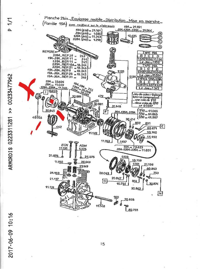 carburateur - recherche  poulie et  cage de carburateur MABEC CB 50 Moteur10