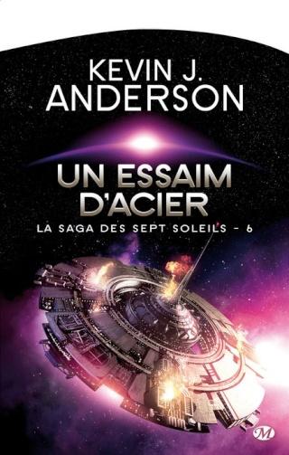 LA SAGA DES SEPT SOLEILS (Tome 6) UN ESSAIM D'ACIER de Kevin J. Anderson 1405-s10