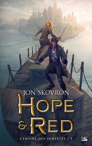 L'EMPIRE DES TEMPÊTES (Tome 01) HOPE & RED de Jon Skovron 17032014
