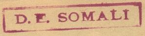 * SOMALI (1944/1976) * 166_0011