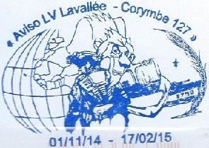 * LIEUTENANT DE VAISSEAU LAVALLÉE  (1980/2018) * 514_0010