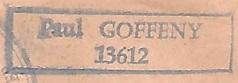 * PAUL GOFFENY (1946/1968) * 651210