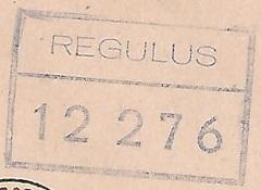 * RÉGULUS (1954/1974) * 680310