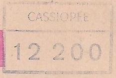 * CASSIOPÉE (1954/1976) * 6803_c11