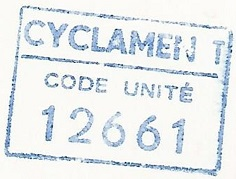 * CYCLAMEN (1954/1983) * 7502_c10