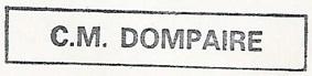 * DOMPAIRE (1955/1988) * 8409_c12