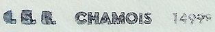 * CHAMOIS (1976/1995) * 8410_c10