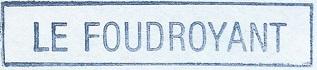 * LE FOUDROYANT (1974/1998) * 8611_c14