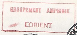 LORIENT - FORCE AMPHIBIE - MARINE 870410