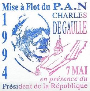 * CHARLES DE GAULLE (2001/....) * 940510