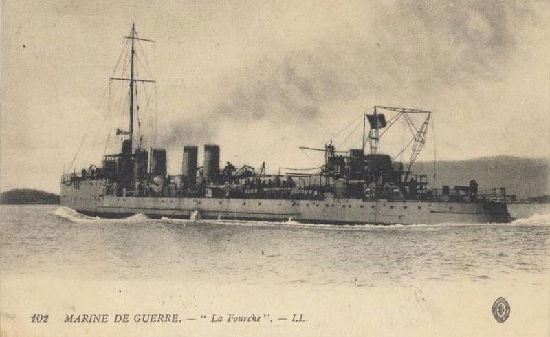 * FOURCHE (1912/1916) * Contre11