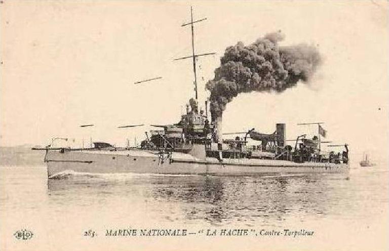 * HACHE (1909/1921) * Contre15