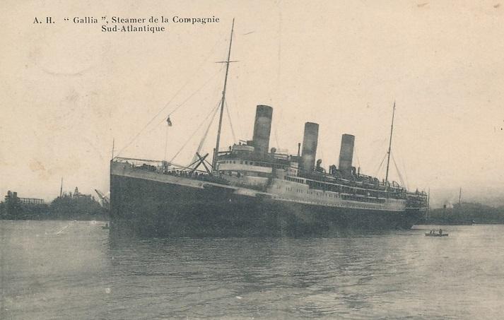 * GALLIA (1916/1916) * Croise18
