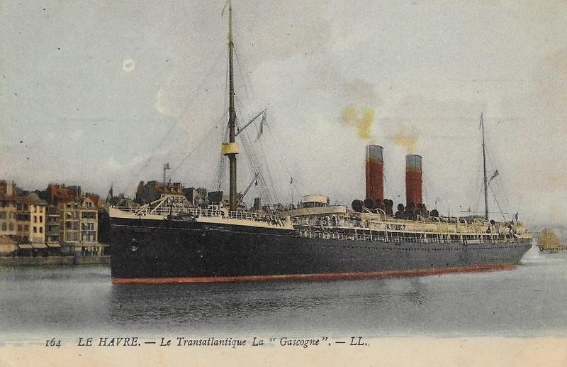 * GASCOGNE (1915/1916) * Navire11