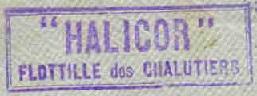* HALICOR (1915/1919) * Patrou19