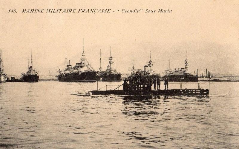 * GRONDIN (1906/1913) * Sous-m31