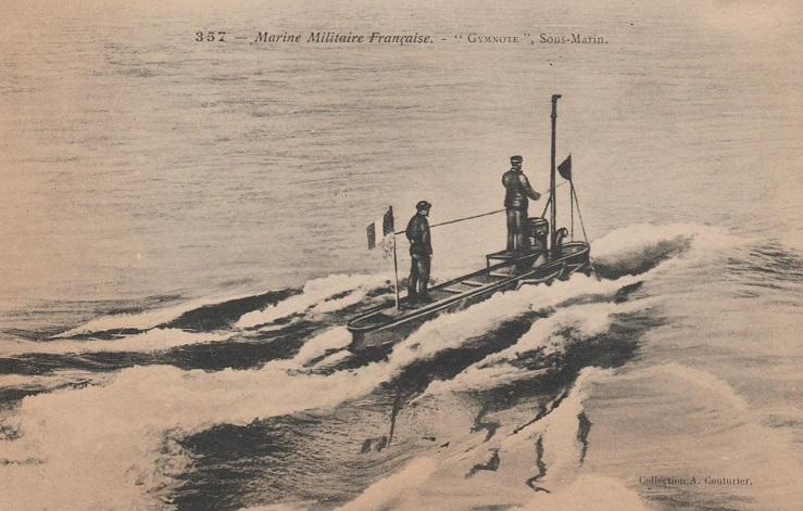 * GYMNOTE (1888/1908) * Sous-m34