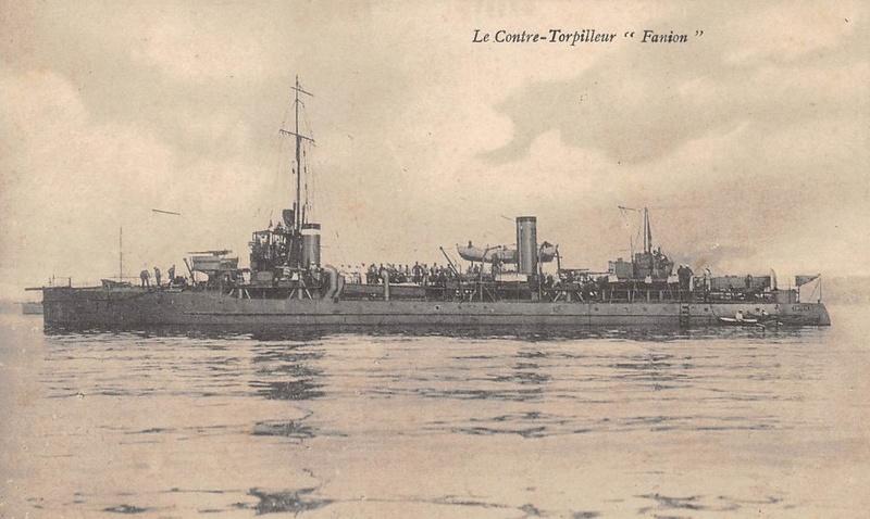 * FANION (1909/1921) * Torpil12