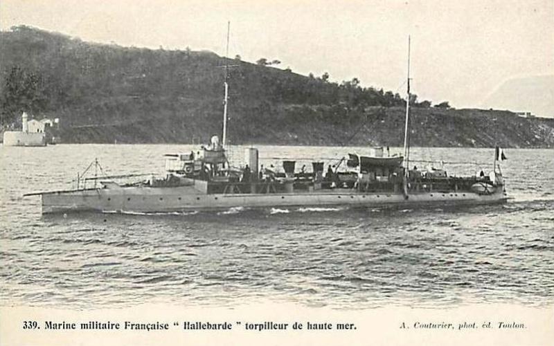 * HALLEBARDE (1899/1920) * Torpil27