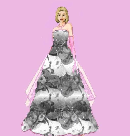 Les robes pas encore portées Gris-r10