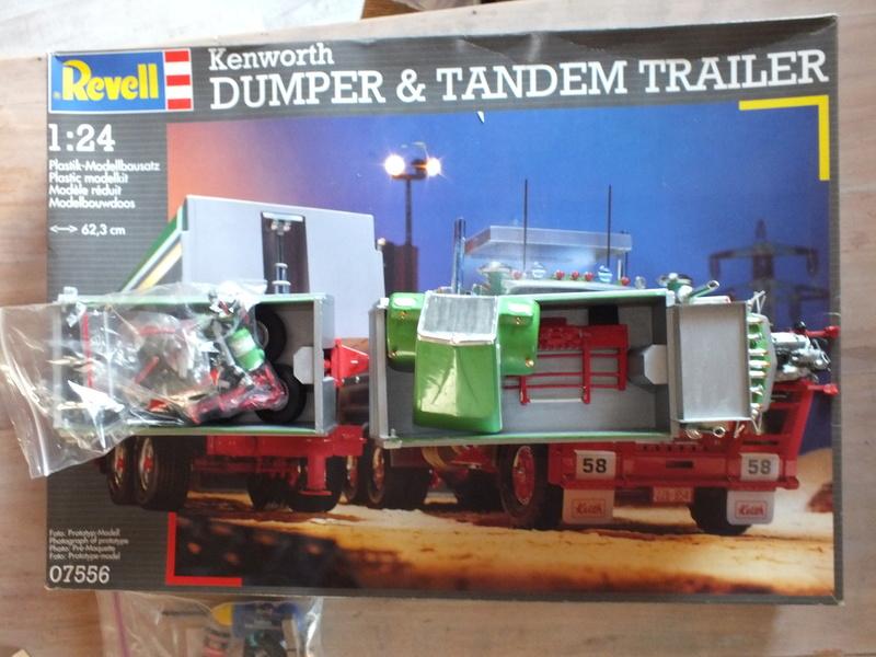 Revell Dumper & Tandem Trailer Dscf0132