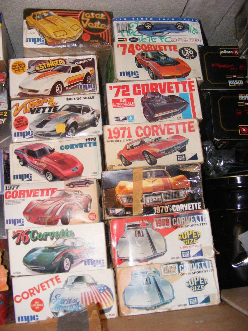 Mon dernier achat, une Corvette 1976 MPC au 1/20 Dscf1015