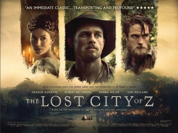 Lost City Of Z : La cité perdue de Z (2017) Action, Historique, Aventure C6aidz10