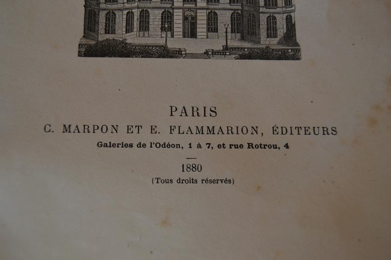 Carte du ciel et livre astronomique de 1880  Dsc_0121