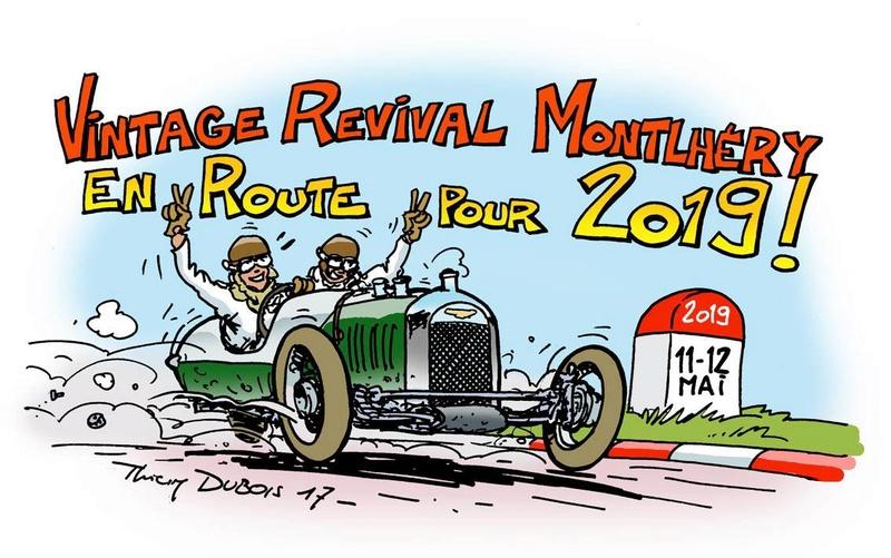 Vintage Revival Montlhéry, 11 & 12 mai 2019 18449310