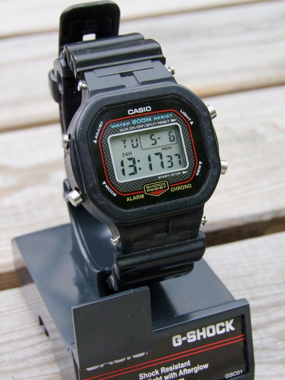 G-shock pas si solide que ça ! Dw560015