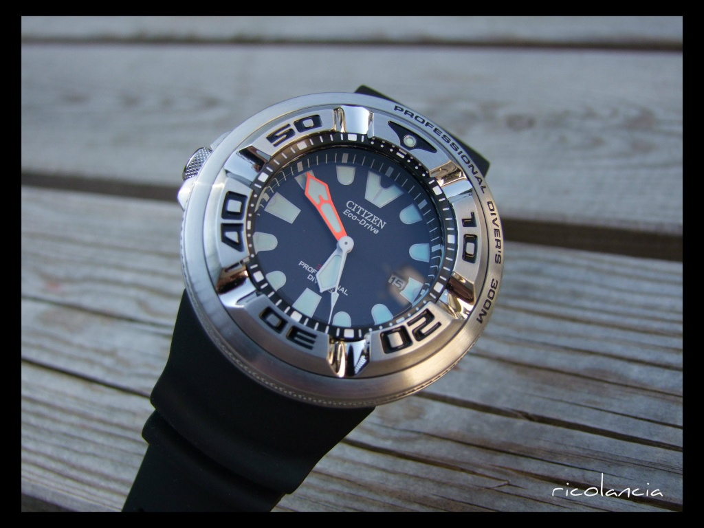 "citizen - citizen BJ-8050 dite ""Ecozilla"" diver's 300m Ecozil10"