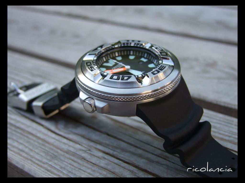 "citizen - citizen BJ-8050 dite ""Ecozilla"" diver's 300m Ecozil11"
