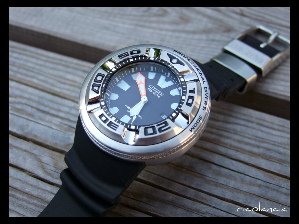 "citizen - citizen BJ-8050 dite ""Ecozilla"" diver's 300m Ecozil12"