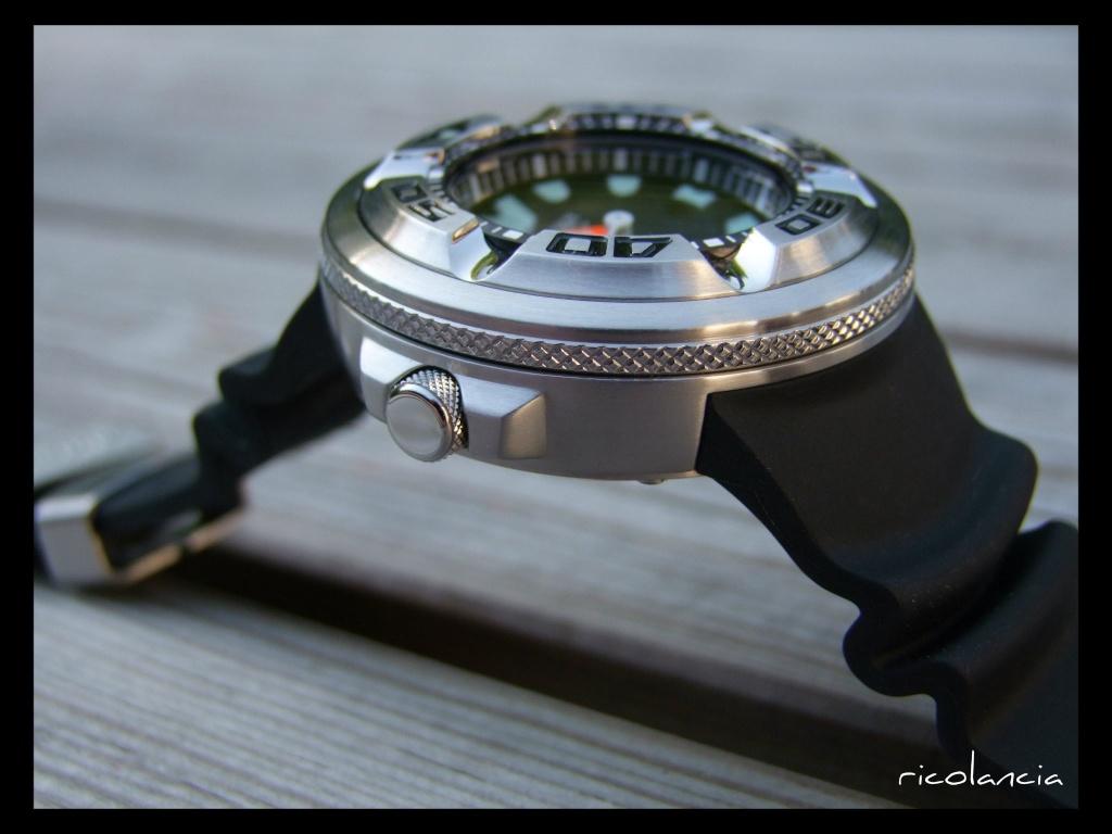 "citizen - citizen BJ-8050 dite ""Ecozilla"" diver's 300m Ecozil13"