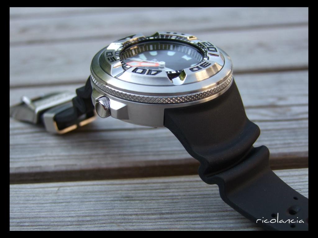 "citizen - citizen BJ-8050 dite ""Ecozilla"" diver's 300m Ecozil19"