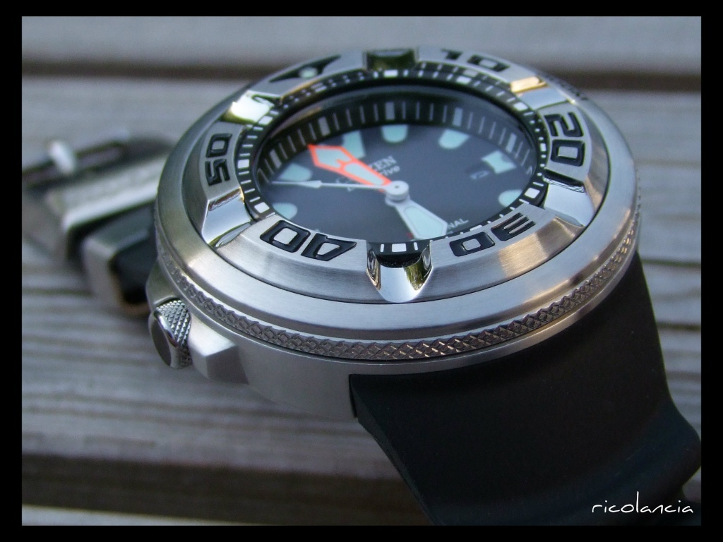 "citizen - citizen BJ-8050 dite ""Ecozilla"" diver's 300m Ecozil21"