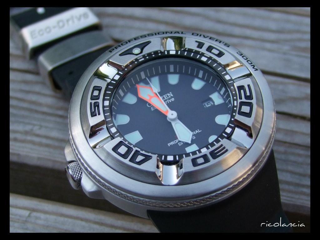 "citizen - citizen BJ-8050 dite ""Ecozilla"" diver's 300m Ecozil22"