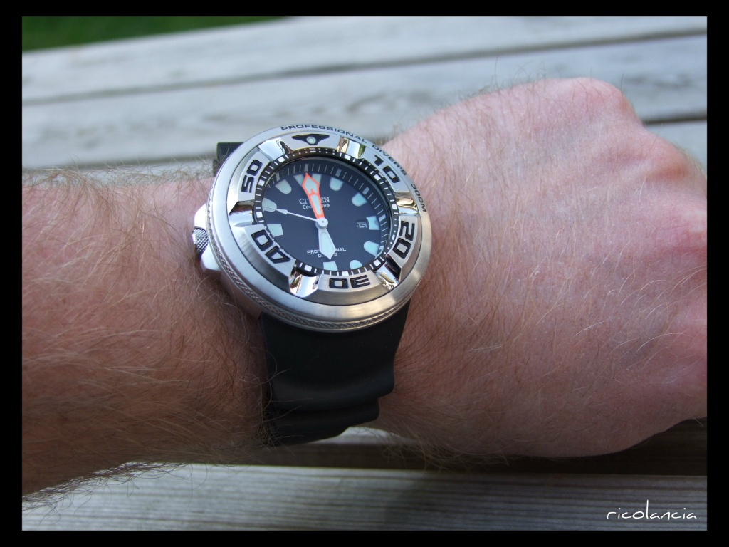 "citizen - citizen BJ-8050 dite ""Ecozilla"" diver's 300m Ecozil26"