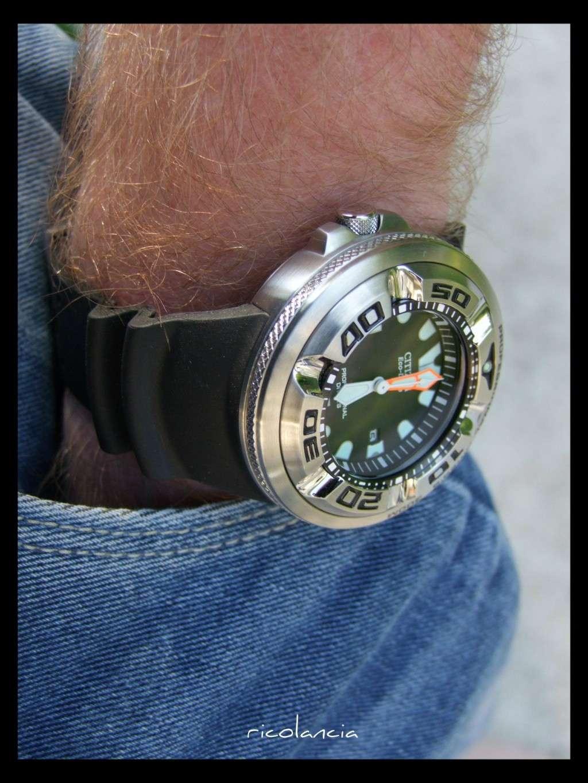 "citizen - citizen BJ-8050 dite ""Ecozilla"" diver's 300m Ecozil29"
