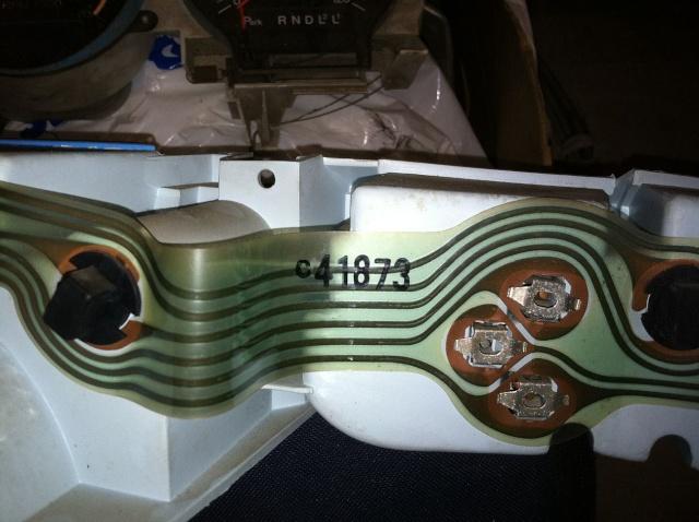Dead tach - filter? 74back10