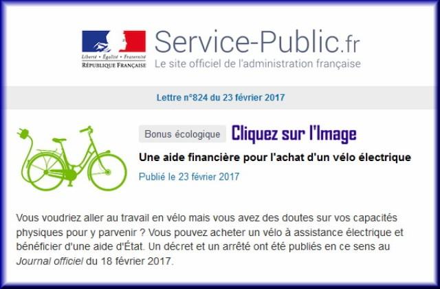 """La lettre N° 824 de """"Service Public"""" pour le 23 Février 2017 82410"""