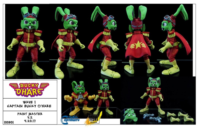 [News]   BUCKY O'HARE (Boss Fight Studio) 2017 18156210