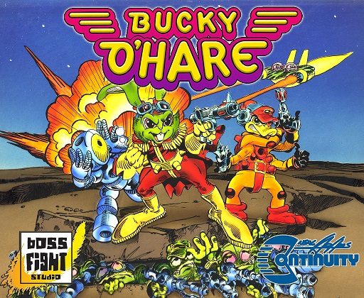 [News]   BUCKY O'HARE (Boss Fight Studio) 2017 B0010