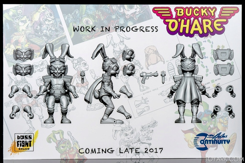 [News]   BUCKY O'HARE (Boss Fight Studio) 2017 B0110
