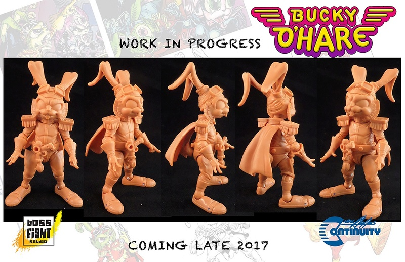 [News]   BUCKY O'HARE (Boss Fight Studio) 2017 B0210
