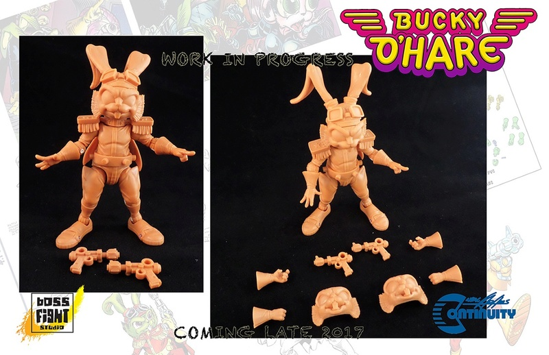 [News]   BUCKY O'HARE (Boss Fight Studio) 2017 B0310