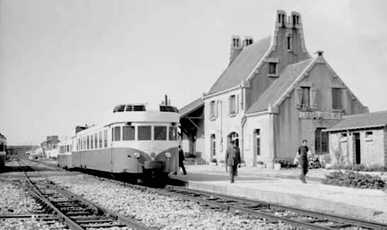 Réseau Breton - il y a 50 ans la fin de la ligne Camaret - Chateaulin Emb Camare13